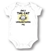 LA Imprints Unisex Baby Attitude Romper - Only The Cat