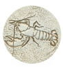 Set of 4 Stoneware Drink Coasters - Lobster