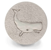 Set of 4 Stoneware Drink Coasters - Whale