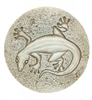 Set of 4 Stoneware Drink Coasters - Gecko