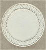 Set of 4 Stoneware Drink Coasters - Rope