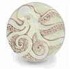 Set of 4 Stoneware Drink Coasters - Octopus