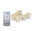 "Candle Choice 6 PCS Realistic Flickering Flameless Candle, Battery Operated Votives, Votive Candles with Remote, Long Battery Life, Battery Included, 1.5""x2"" with Drips"