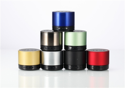 iBomb Tube Rechargeable Super Bass Stainless Steel Mini Bluetooth Wireless Speaker